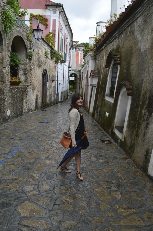 The sweet streets of Ravello.