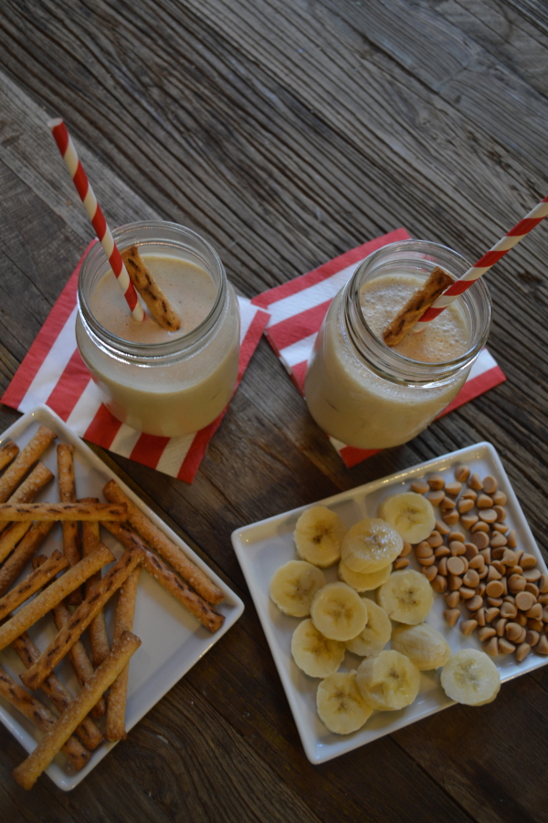 Got Milk? Peanut and Banana Smoothie and Toppings