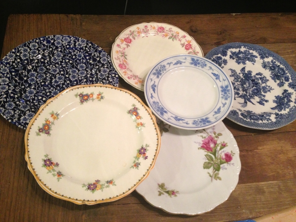 Wedding Mismatched China - Perfectly Disheveled